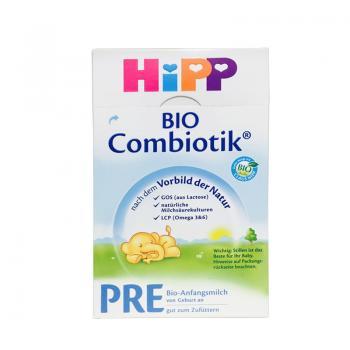 德国喜宝/HiPP BIO益生菌新生儿奶粉Pre段 2060(0-3个月宝宝) 600g