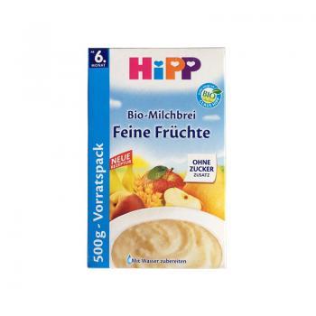 德国喜宝HIPP多种有机水果谷物米粉6M+500g
