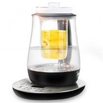 美的(Midea) 養生壺燕窩壺多功能加厚玻璃煮茶器 電水壺電熱水壺花茶壺煮茶定溫保溫GE1512a