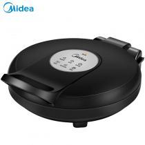 美的(Midea)双面悬浮煎烤机家用电饼铛 JHN30E 黑色